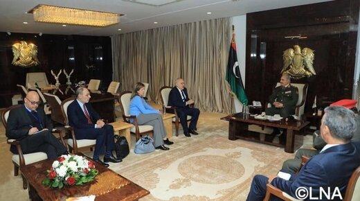نظامیان آمریکایی غیرمنتظره وارد لیبی شدند