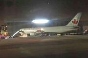 ببینید | میزان آسیب دیدگی هواپیمای ایر کانادا که در مادرید فرود اضطراری داشت