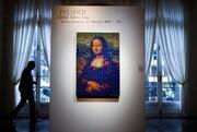 حراج «مونالیزا»ی روبیکی در نزدیکی موزه لوور