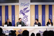 تصاویر | نشست خبری فیلم «آنشب» در کاخ جشنواره