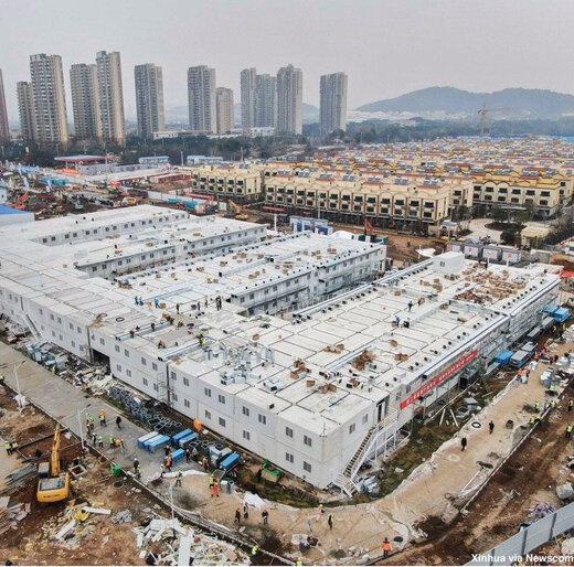 چطور چینیها این مرکز بزرگ ضد کرونا را ده روزه ساختند؟