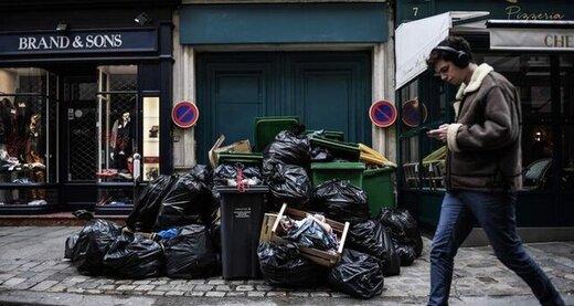 پاریس زبالهدان شده است