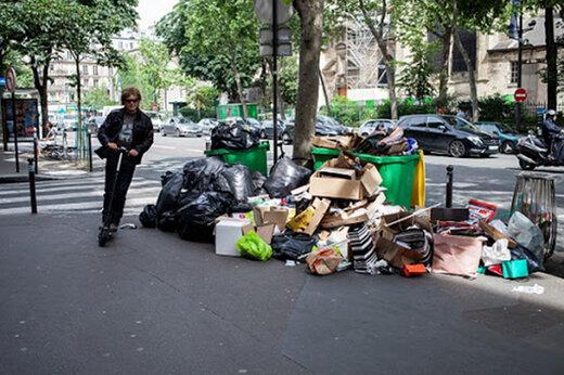 ببینید   خیابانهای پاریس مملو از زباله شد