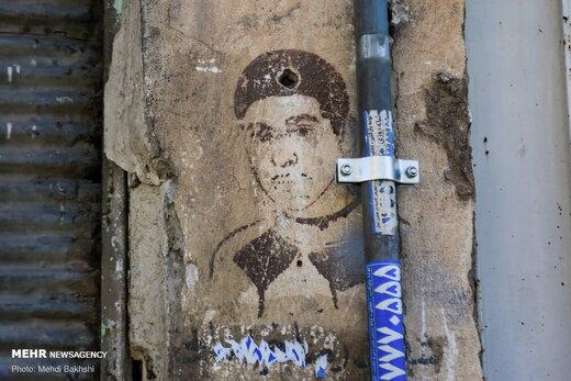 دیوارنگاره های برجای مانده از دوران انقلاب