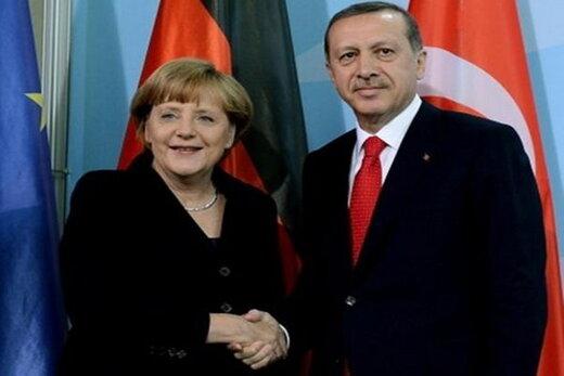 گفتگوی اردوغان و مرکل چه بود؟