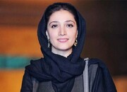 عکس | مینا ساداتی در آتلیه جشنواره فجر