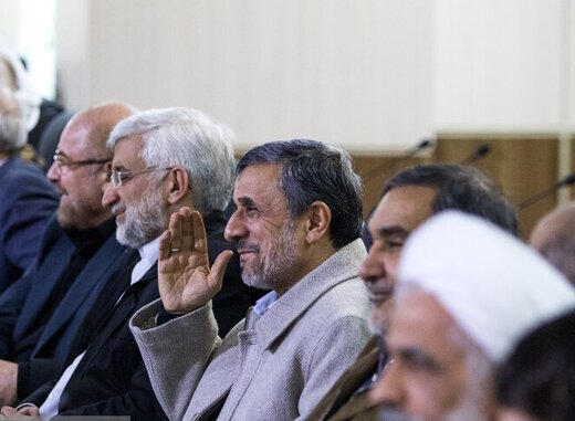 همنشینی احمدینژاد، قالیباف و جلیلی در جلسه امروز مجمع تشخیص مصلحت نظام +عکس