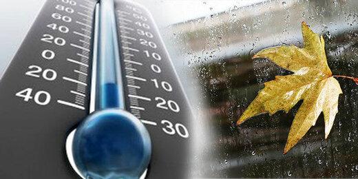 کاهش ۱۵ درجهای دما در برخی نقاط کشور/ این استانها برفی و بارانی میشوند