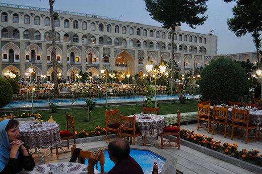 هتل عباسی اصفهان به عنوان بهترین هتل جهان شناخته شد