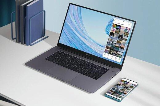 بهروزرسانی لپتاپهای سریMateBook D هوآوی با قابلیتهای جدید