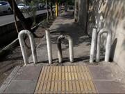 مسیر ویژه نابینایان از پیادهراهها حذف میشود؟