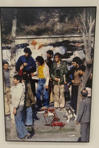 نمایشگاه عکس «میشل ستبون» از پیروزی انقلاب