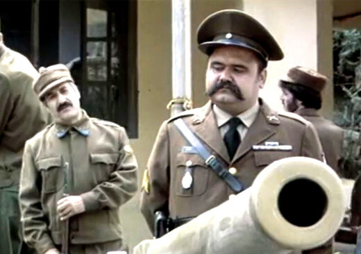 علی نصیریان و اکبر عبدی در قاب تلویزیون