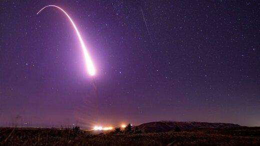 آمریکا یک موشک بالستیک قارهپیما آزمایش کرد
