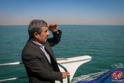 ببینید | احمدی نژاد در جزیره هرمز