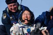 ببینید | لحظه فرود زنی که رکورد ماندن در ایستگاه فضا را شکست