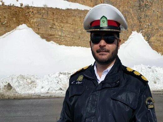 در این جاده بوق نزنید/ احتمال ریزش بهمن