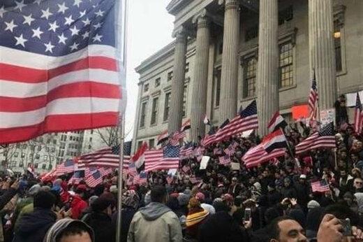 ببینید | تظاهرات آمریکاییها علیه تبرئه ترامپ