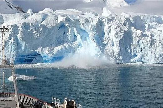 ببینید   لحظه سقوط تکه یخ ۴۰ متری در قطب جنوب