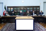 تصویری از روحانی و لاریجانی در جلسه شورای عالی هماهنگی اقتصادی