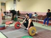 سهراب مرادی و کیانوش رستمی در اردوی تیم ملی وزنه برداری