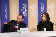 ببینید | ستاره پسیانی و پوریا رحیمی سام در نسشت خبری «من میترسم»