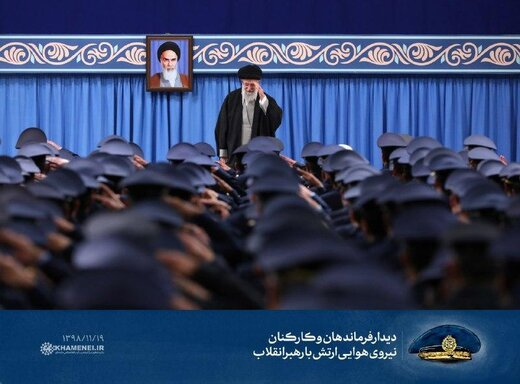 Supreme Leader receives Air Force commanders, staff