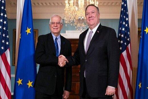 گفتگوی بورل و پمپئو درباره ایران