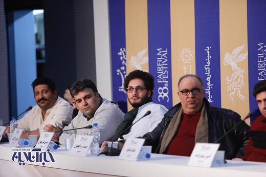 نشست خبری فیلم  ریست (تعارض) به کارگردان محمدرضا لطفی