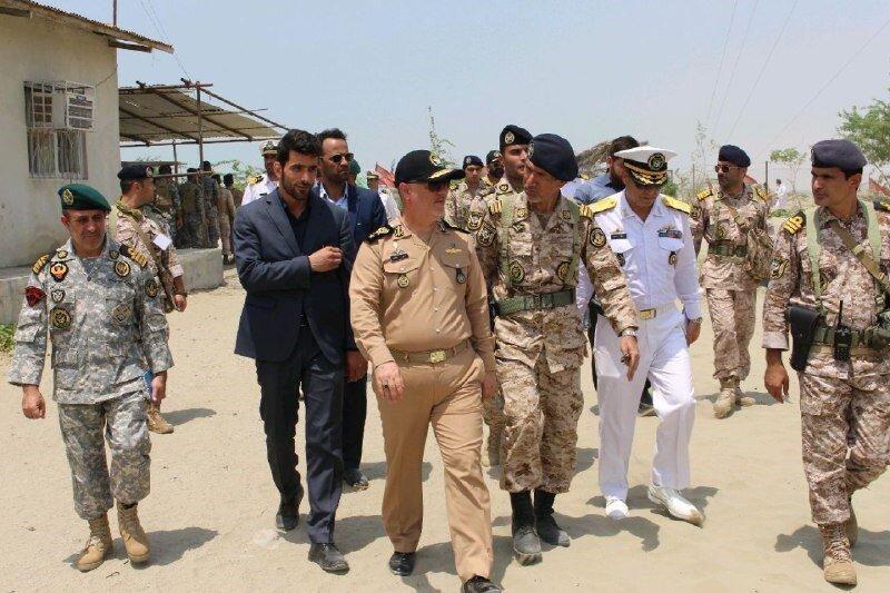 ارتش جمهوری اسلامی ایران؛ پای ثابت آبادسازی سواحل مکران