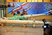 ببینید | رونمایی از موشک رعد و موتور فوق پیشرفته سلمان