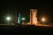 ببینید | لحظه پرتاب ماهواره ظفر به فضا