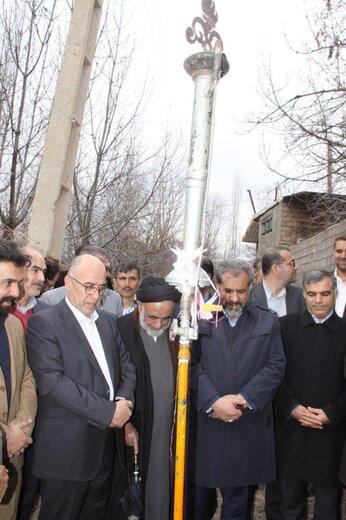 افتتاح گازرسانی به ۶روستای منطقه الموت در ایام دهه فجر