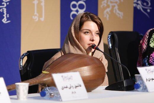 ببینید | دختر ۲۳ سالهای که نقش زن ۳۵ ساله را در جشنواره فجر بازی کرد