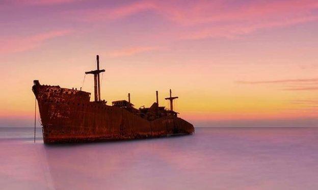 کشتی یونانی در تو کیش