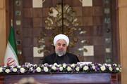 فیلم | روحانی در دیدار سفرای خارجی مقیم تهران: موشکهای نقطه زن و مدرن ما علیه ترور و جنایت است