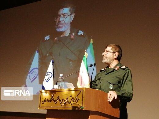 دومین سیلی ایران به آمریکا بعد از حمله موشکی سپاه از زبان سردار شریف /قُمار بزرگی که ترامپ کرد
