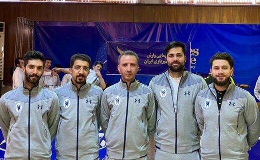 سه برد پیاپی تیم شمشیربازی دانشگاه آزاد یزد در هفته اول لیگ برتر کشور