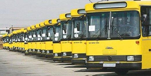۱۰۰دستگاه اتوبوس در اختیار راهپیمایان ۲۲ بهمن کرج قرار میگیرد