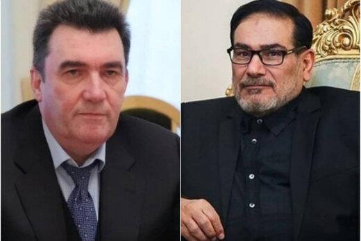 جزئیات گفتگوی شمخانی با دبیر شورای امنیت ملی اوکراین درباره پرونده سقوط هواپیما