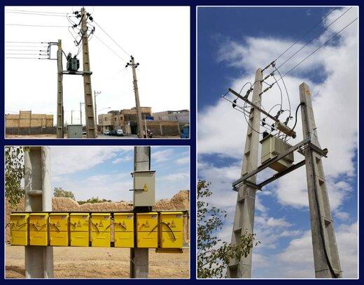افتتاح ۲۱ طرح عمرانی صنعت توزیع برق شهرستان شاهرود دردهه فجر