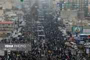 ببینید | حضور پر شور مردم تهران در ساعات اولیه مراسم22 بهمن