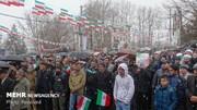 ریانووستی: راهپیماییهای گسترده در سالگرد پیروزی انقلاب برگزار شد