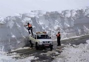 جاده مهاباد – بوکان بسته شد