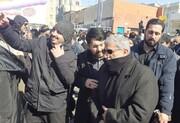 حضور «سردار قاآنی» در جمع راهپیمایان تهرانی /فرمانده کل ارتش: آمریکا ضربه عین الاسد را فقط یک سیلی تلقی کند