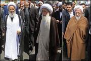 مراجع تقلید در حاشیه مراسم راهپیمایی ۲۲ بهمن چه گفتند؟