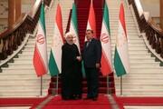 رئیس جمهور تاجیکستان سالگرد پیروزی انقلاب را به روحانی تبریک گفت