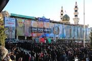 ببینید | صفهای طولانی برای زیارت مزار سردار شهید قاسم سلیمانی