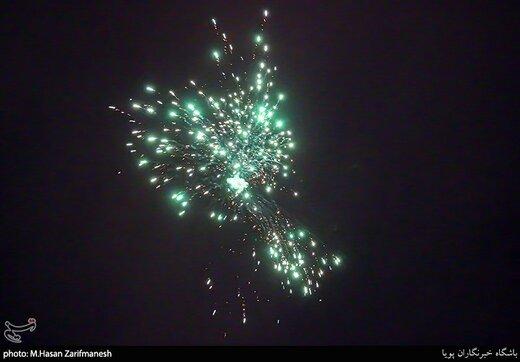 مراسم نورافشانی به مناسبت سالگرد پیروزی انقلاب اسلامی