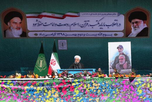 فیلم   روحانی: شهید سلیمانی هم سردار میدان جنگ و هم دیپلمات ارشد در مذاکره بود